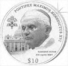 Pontifex Maximus Coin