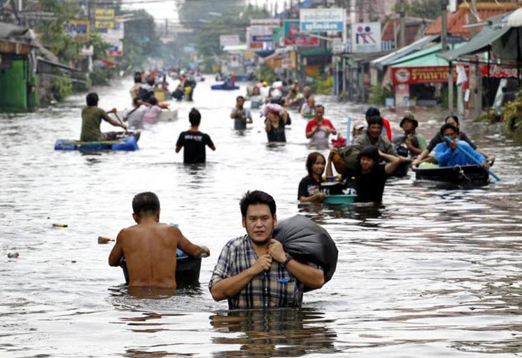Flooding Rangsit 2011-10-23